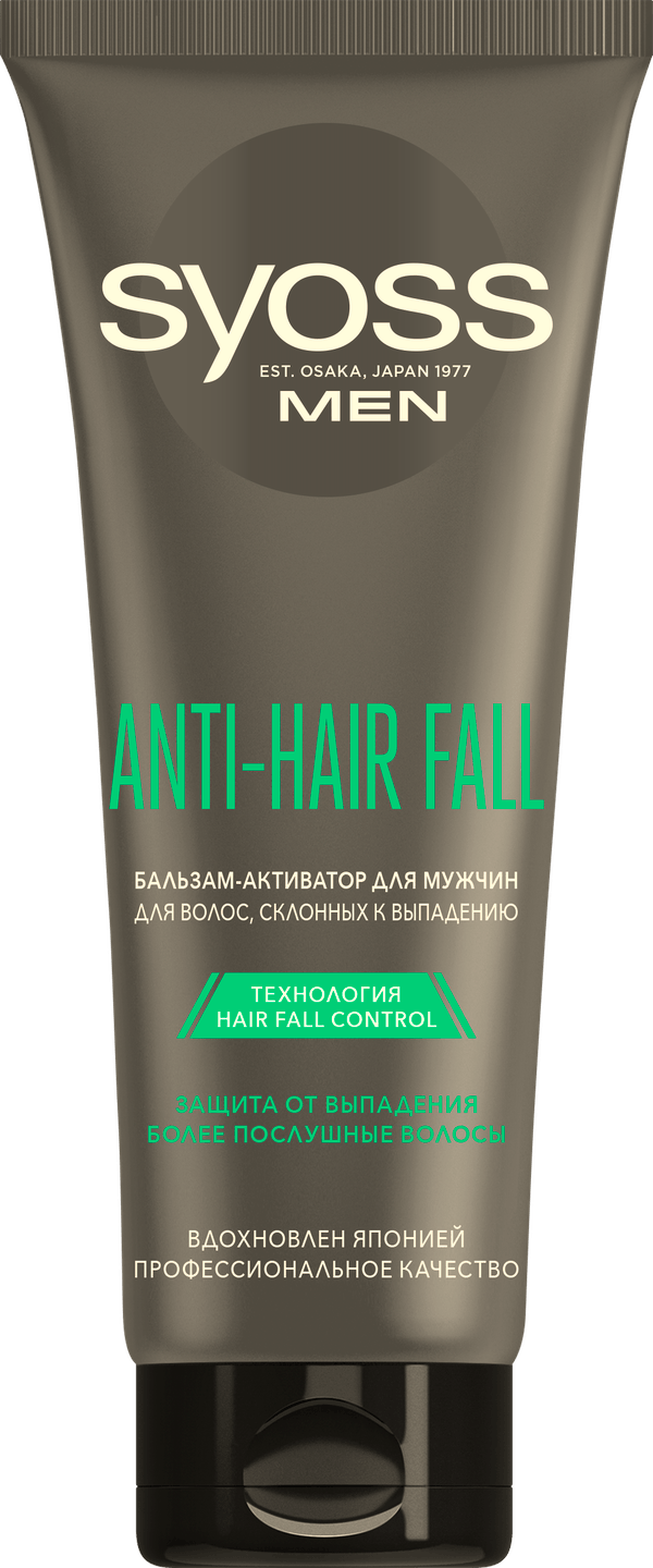Syoss Men Anti-Hair Fall Бальзам-Активатор pack shot