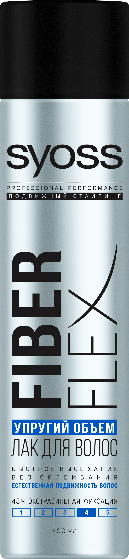 Syoss Fiber Flex Упругий Объем Лак для волос