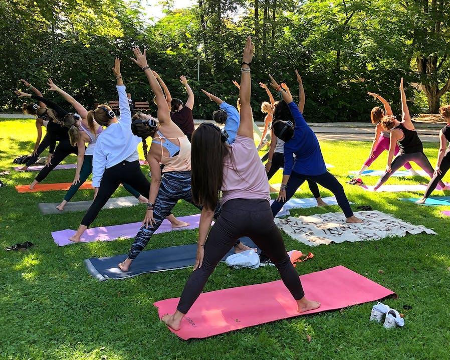 Sound Yoga beim Wanderlust Festival