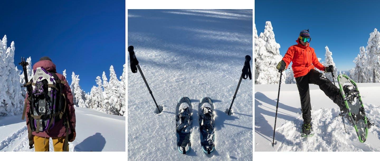 ciaspole su neve-montagna-inverno-sportler