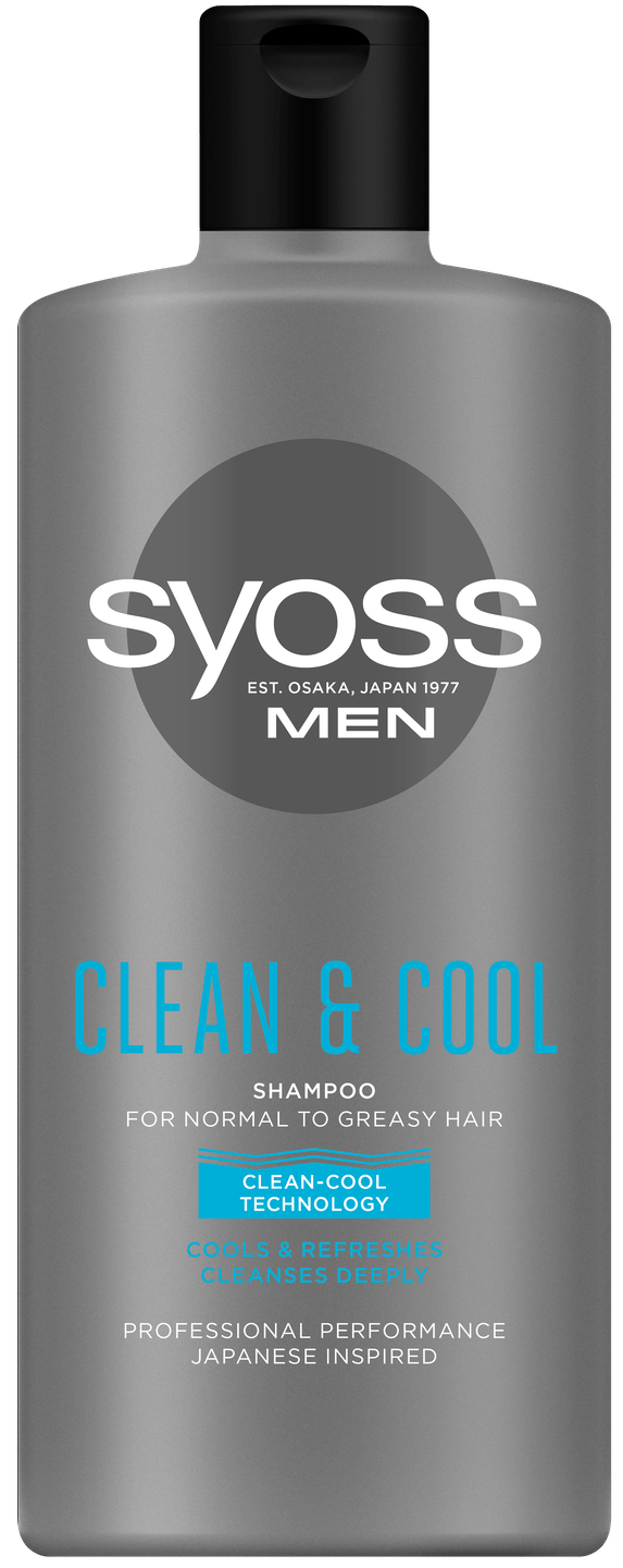 Szampon Syoss Men Clean & Cool pack shot