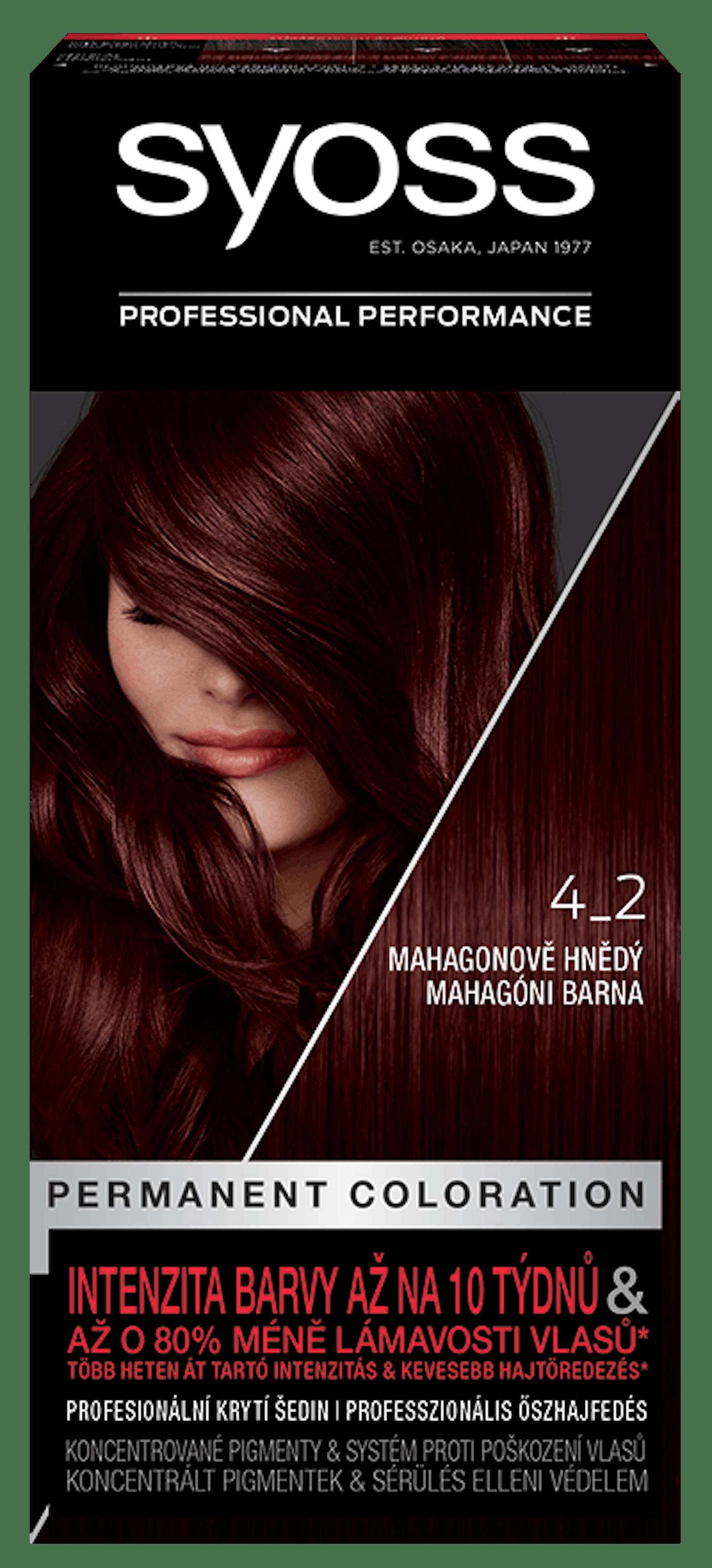 Permanentní barva Mahagonově hnědý 4_2
