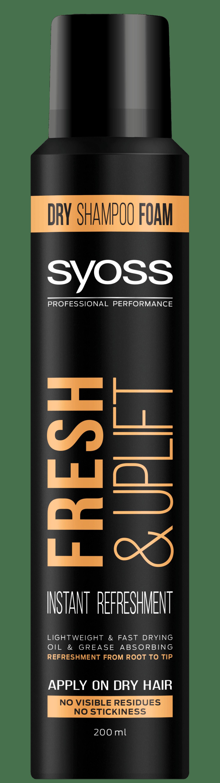 Fresh & Uplift penový suchý šampón