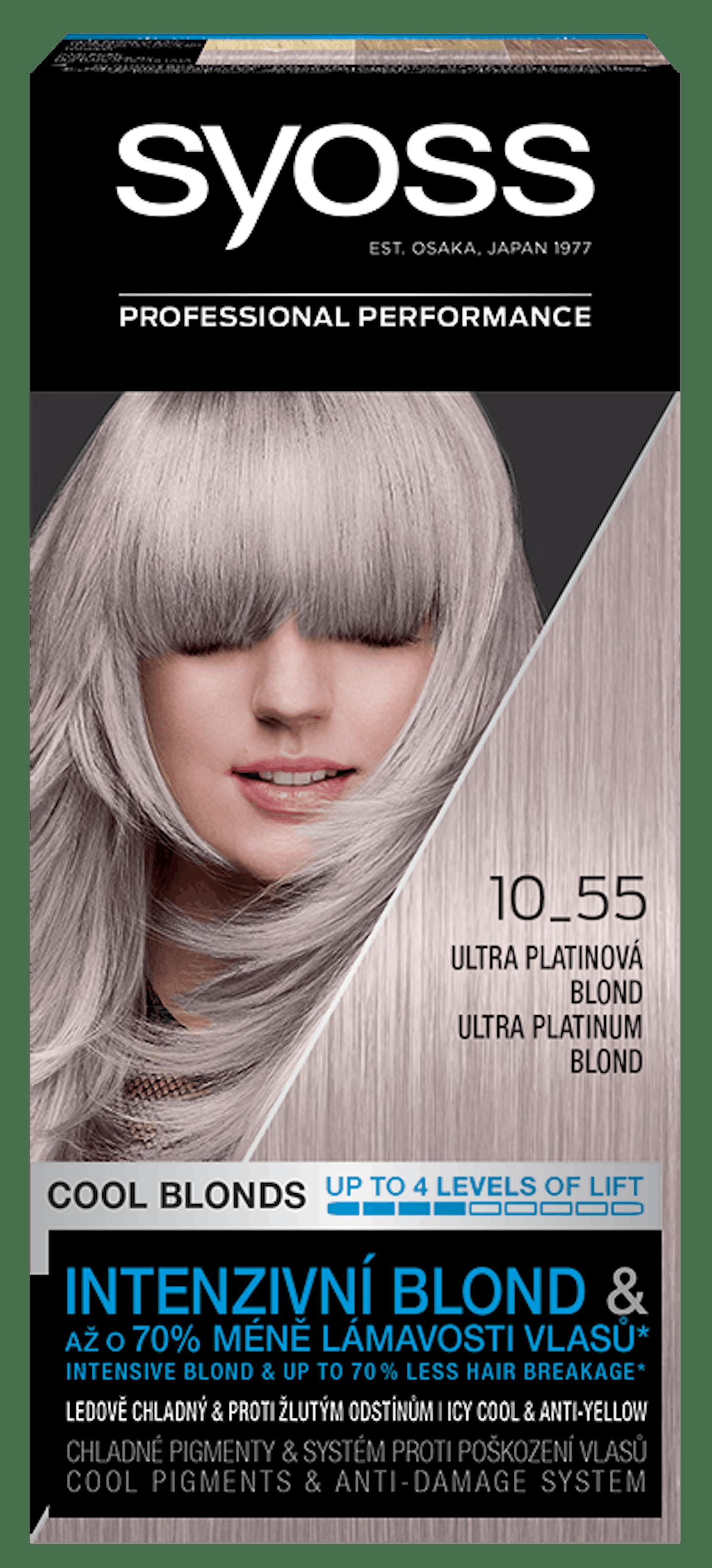 Trvácna farba Ultra platinový blond 10_55