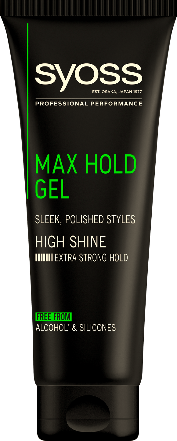 Syoss Max Hold Zselé pack shot