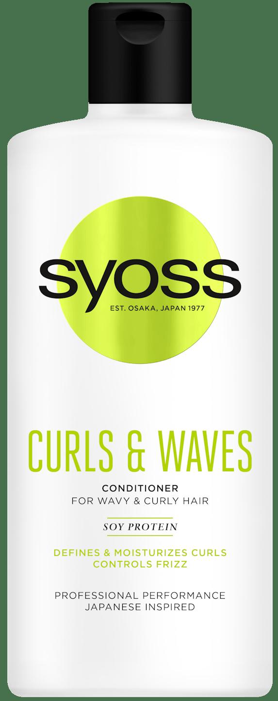 Odżywka Syoss Curls pack shot