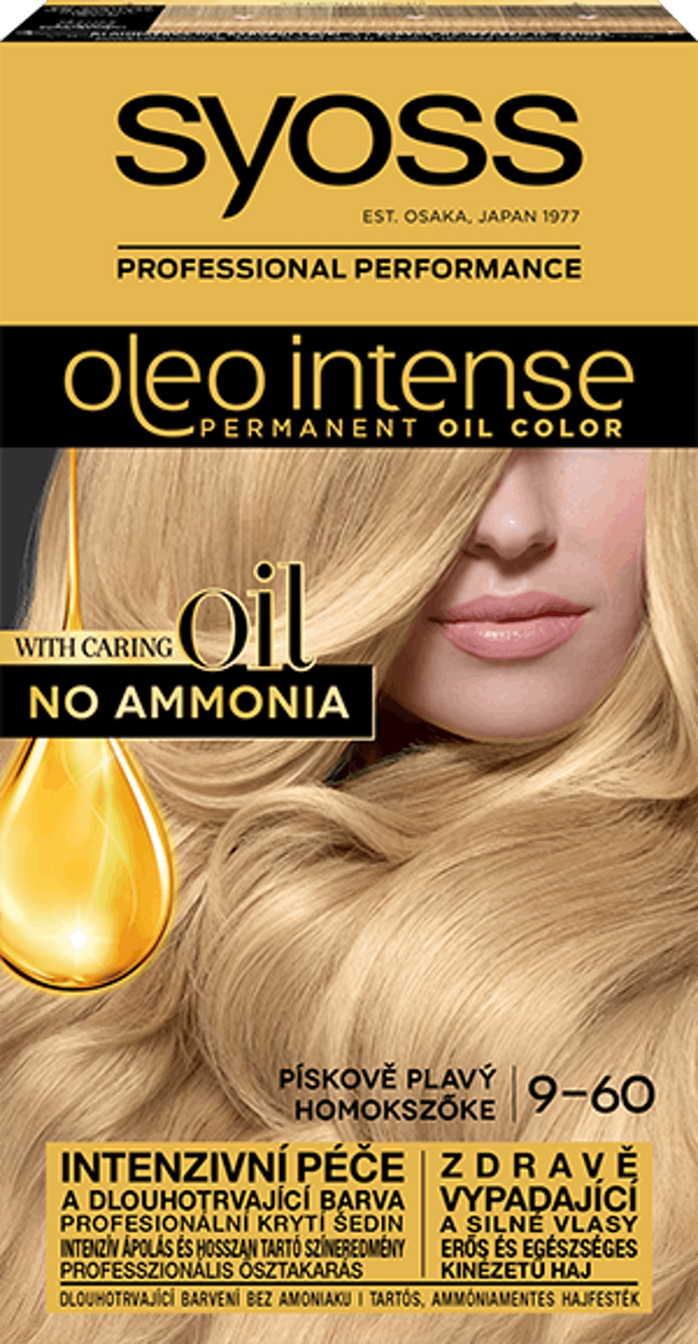 Oleo Intense trvácna farba Pieskový blond 9-60