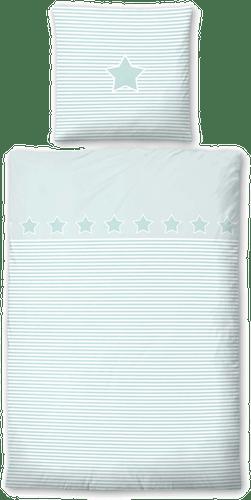 Biberna Kinderbettwäsche »Striped Star«