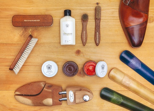 Shoe care products Melvin & Hamilton