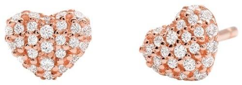 Boucles d'oreilles MICHAEL KORS en Argent 925/1000 Rose