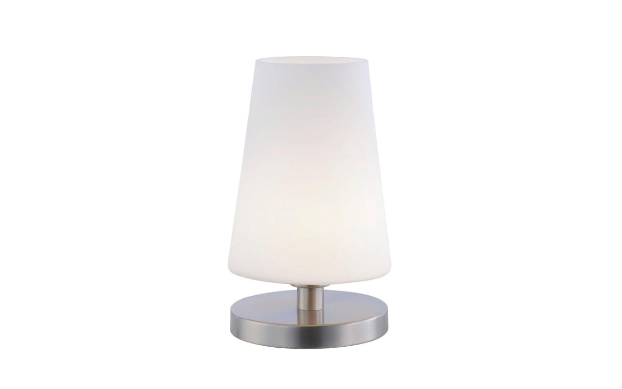 LED-Tischleuchte Sonja in stahlfarbig
