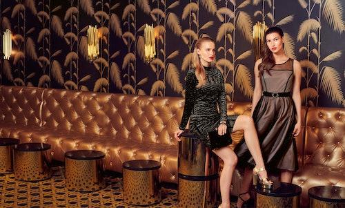 sukienki kokatjlowe wieczorowe orsay