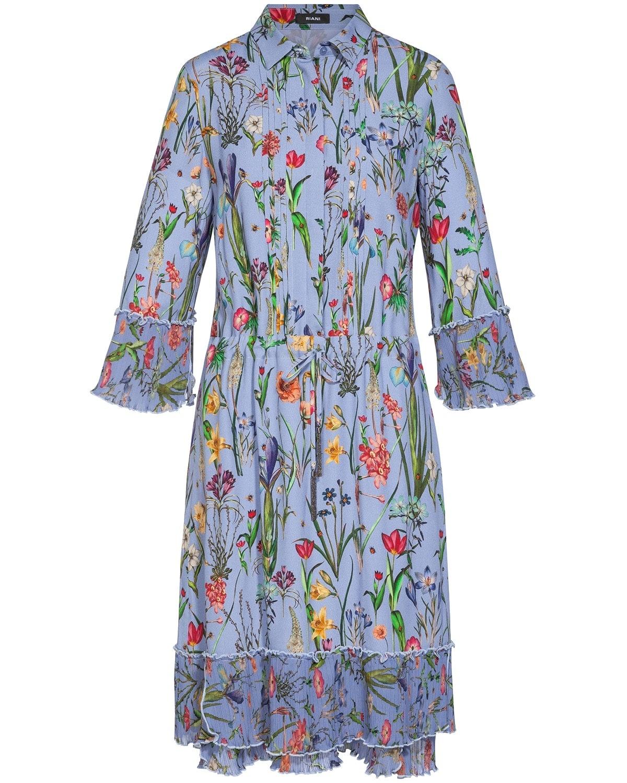 RIANI, Dress, Flower Dress, Blueprint Kollektion 2018, Lodenfrey, Munich