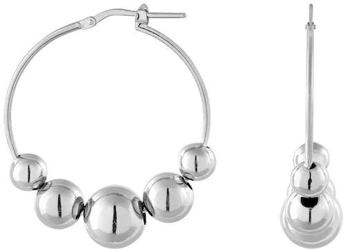 Ces Boucles d'oreilles BELLISSIMA sont en Argent 925/1000