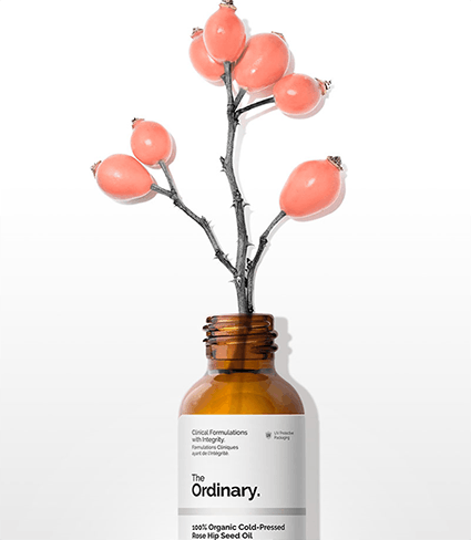100% Organic Cold Pressed Hip Rose Oil, The Ordinary, Öl, Rosenöl