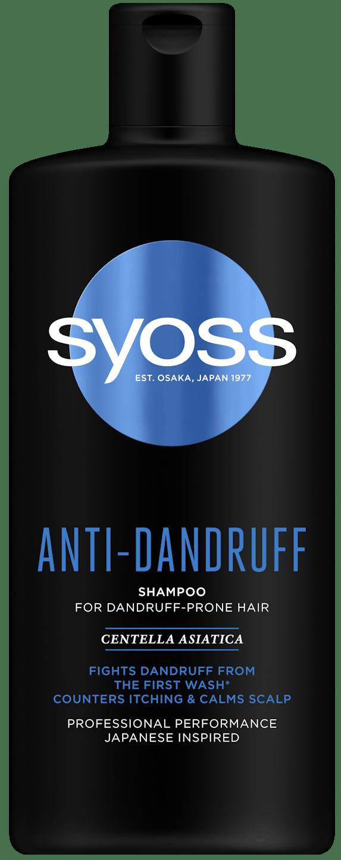 Syoss Anti-Dandruff Şampon pack shot
