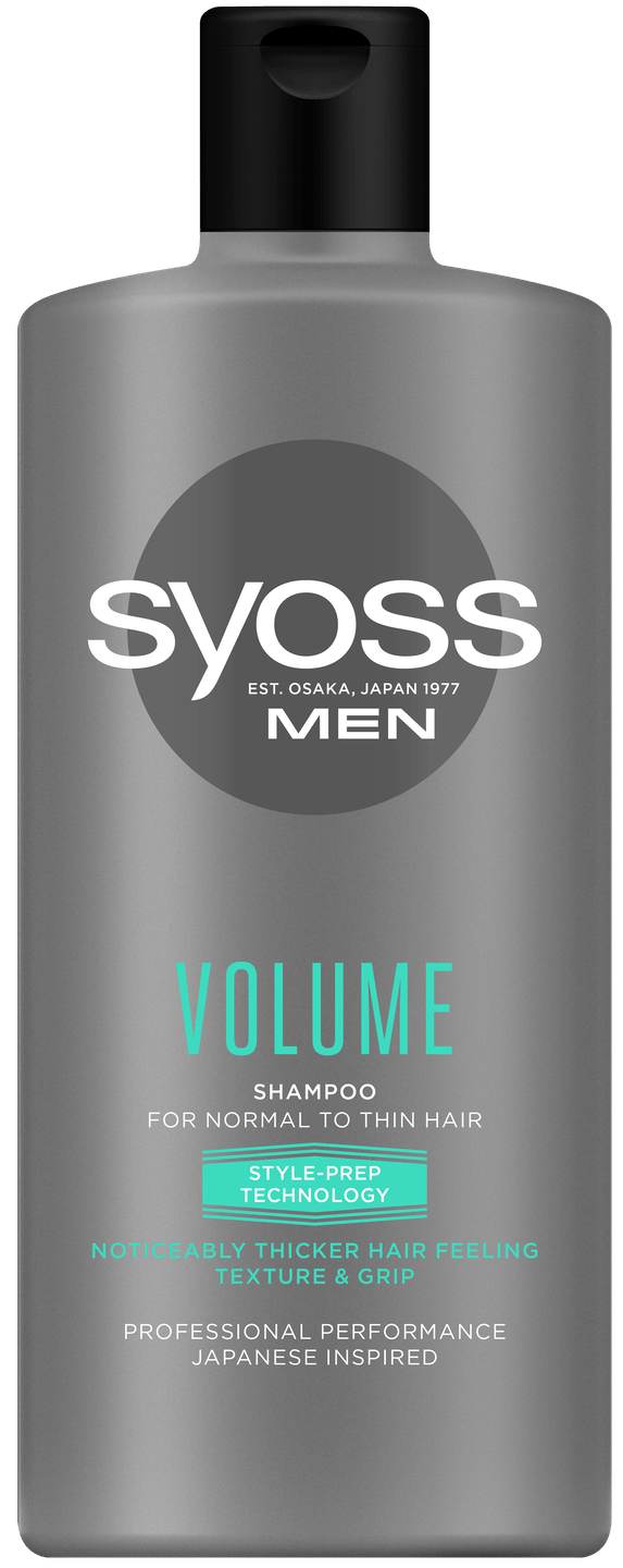 Syoss Men Volume Şampon PACK SHOT