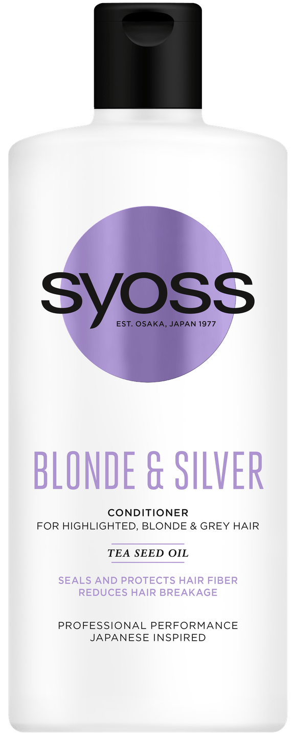 Syoss Blonde & Silver Balsam pack shot
