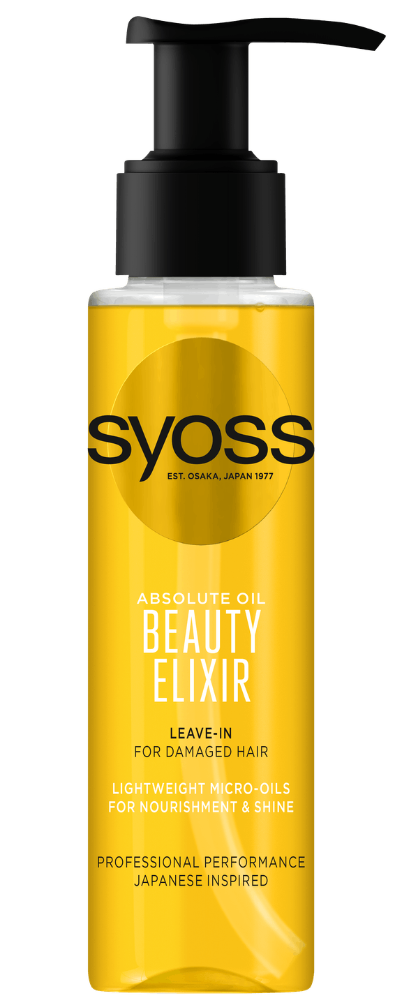 Syoss Absolute Oil Beauty Elixir pack shot