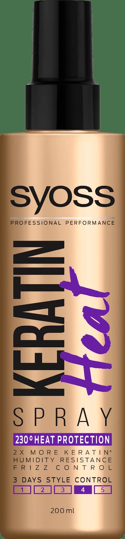 Syoss Keratin Spray Protecţie Termică pack shot