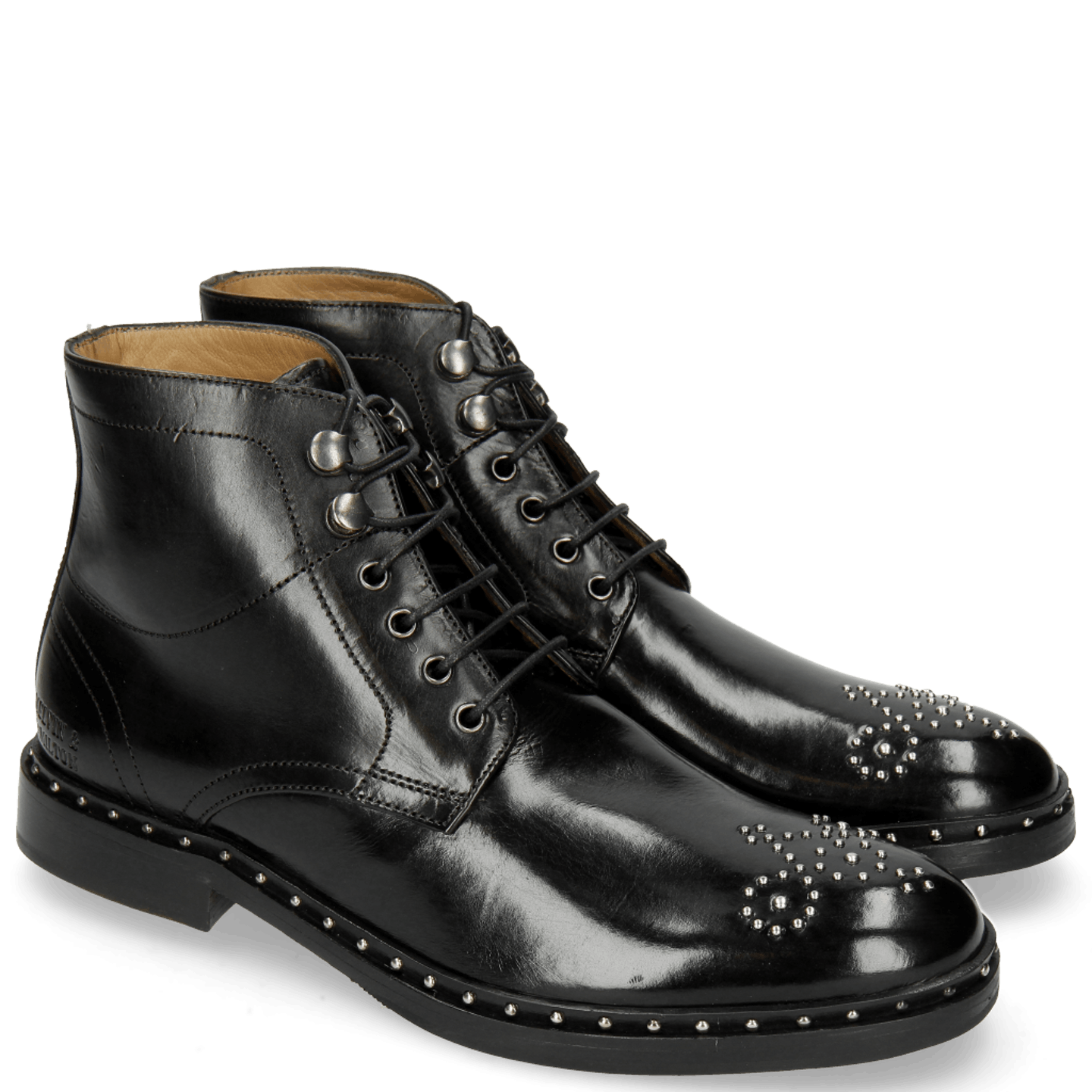 Sally 109 Black Rivets