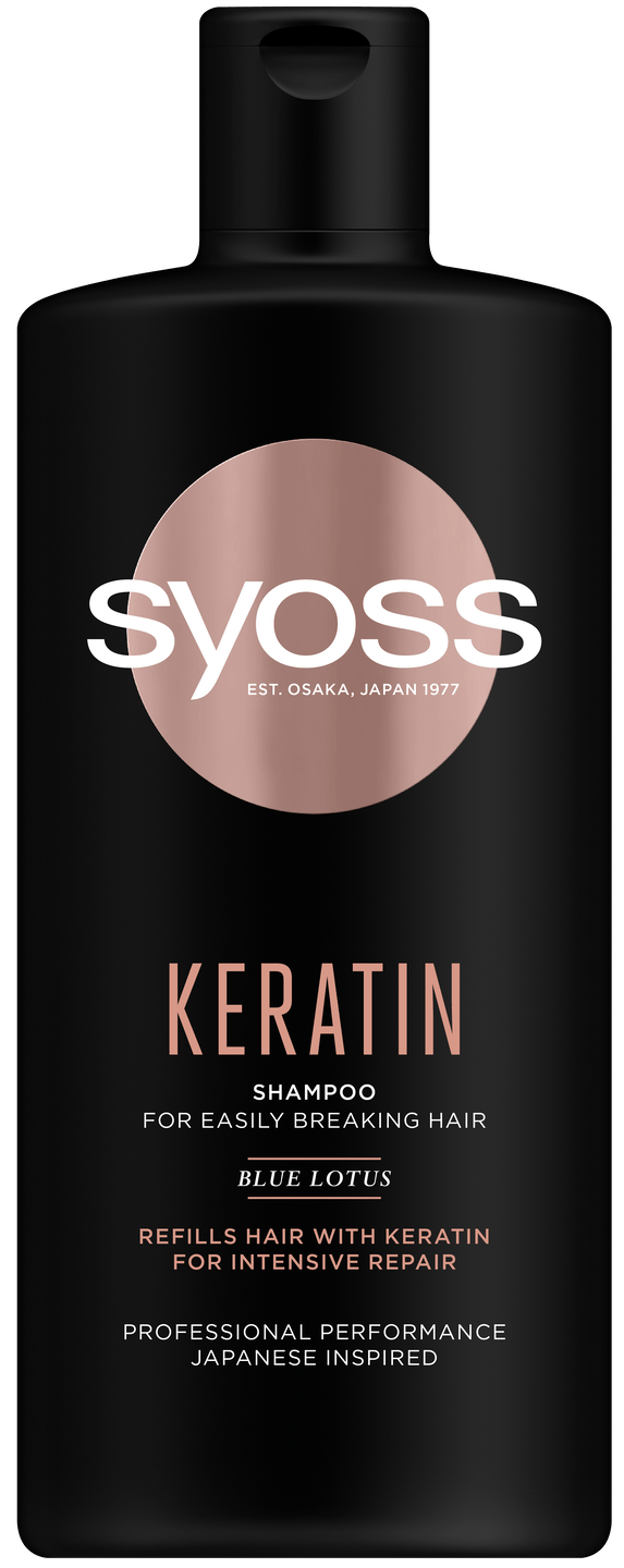 Syoss Keratin šampon pack shot