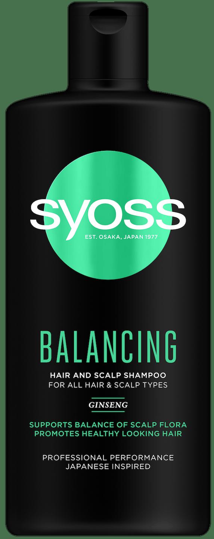 Syoss Balancing šampon pack shot