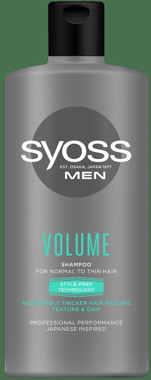 Syoss Men Volume šampon pack shot