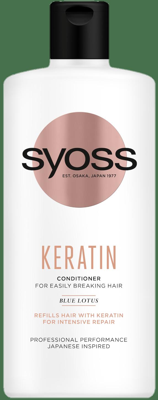Syoss Keratin regenerator pack shot