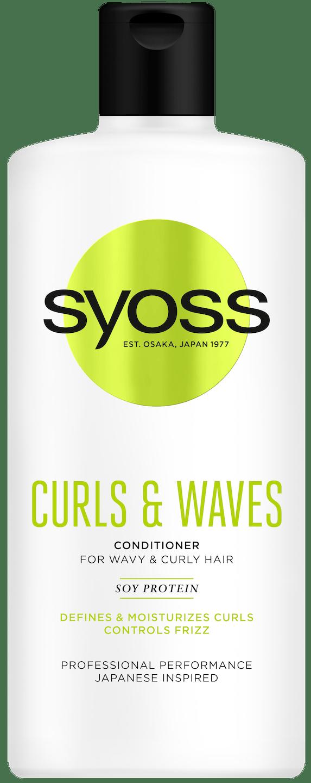 Syoss Curls & Waves regenerator pack shot