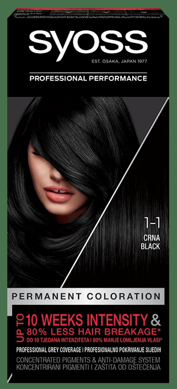 Syoss trajna boja za kosu Crna 1_1 pack shot