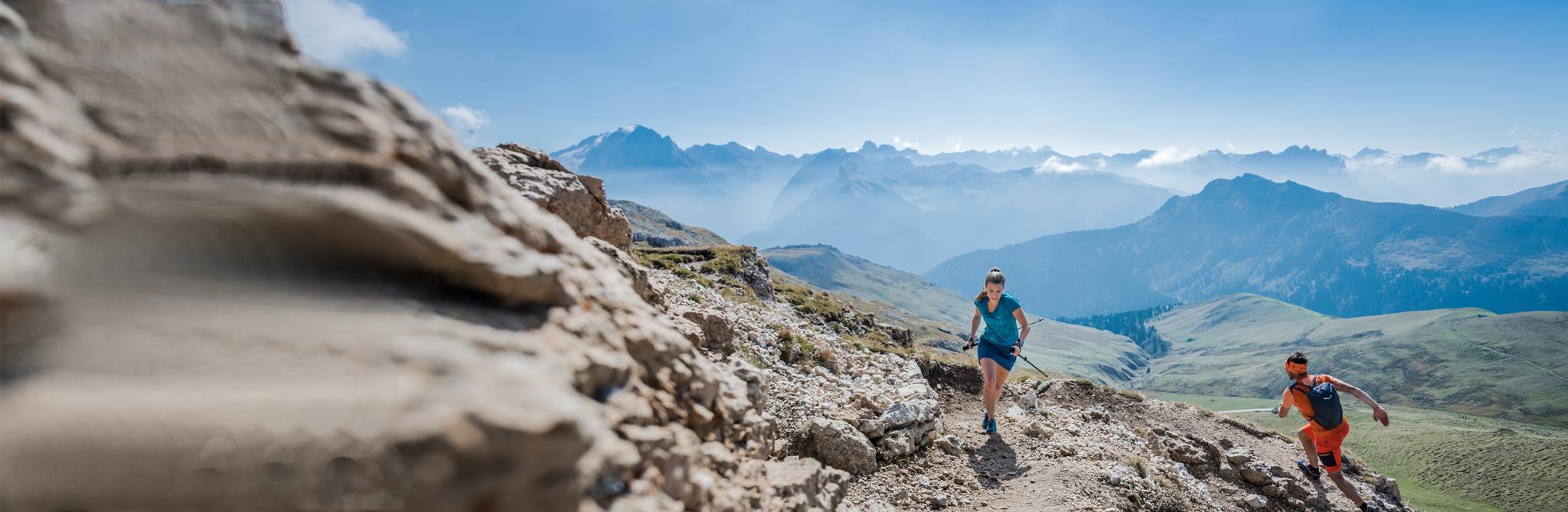 Speed Hiking und Trailrunning