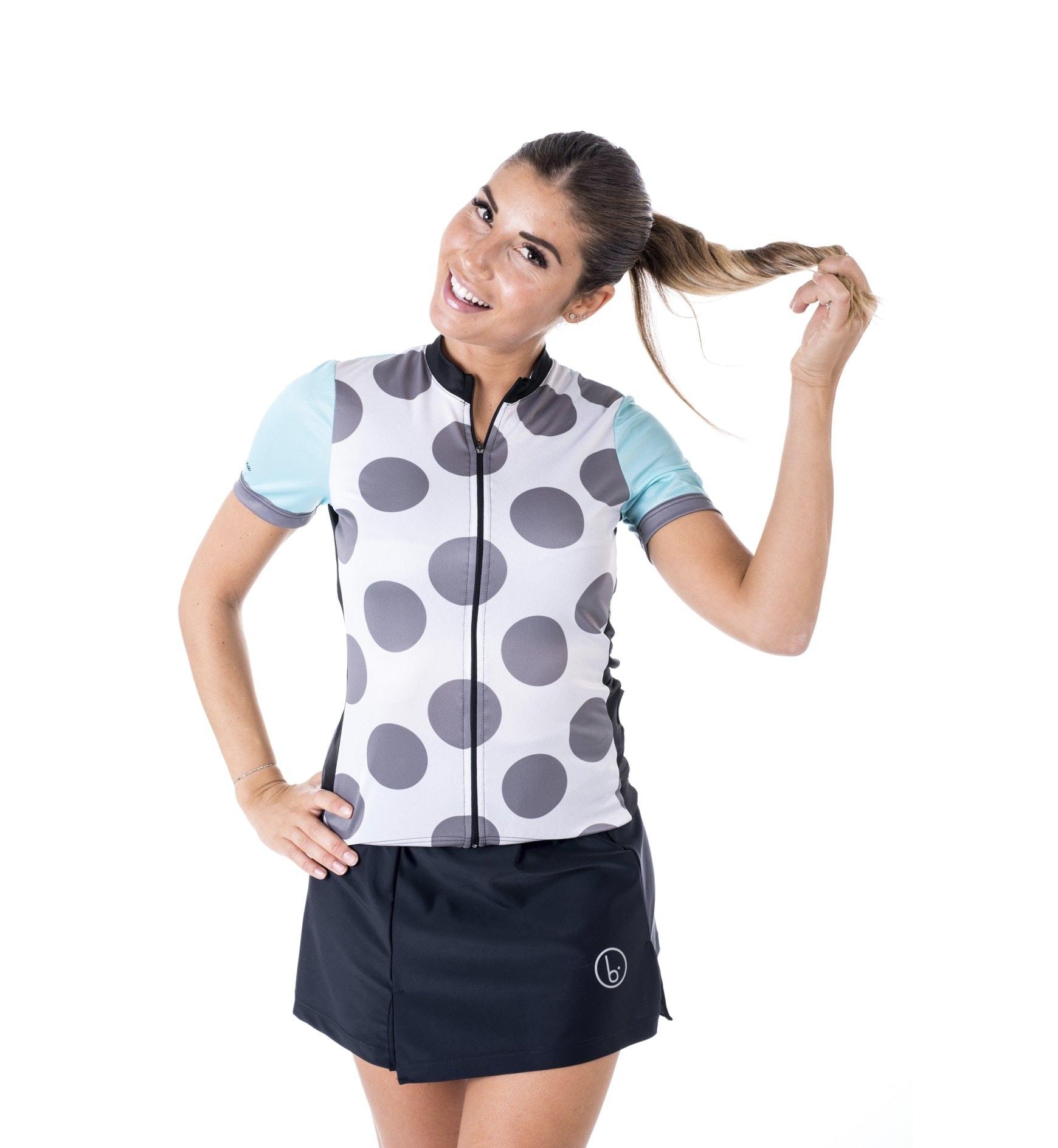 Biciclista Clubbin Les Ciclistes - maglia bici - donna