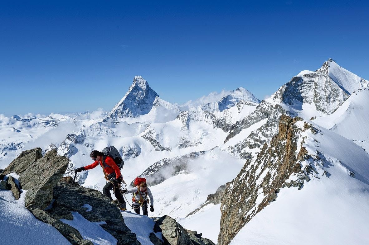 ...mit Matterhornpanorama...