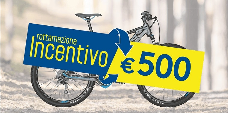 rottazione bike Sportler, fare beneficienza e godere del bonus
