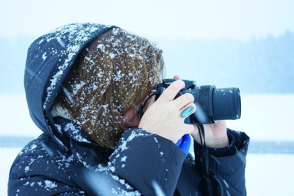 Auf der Suche nach dem perfekten Winter-Motiv