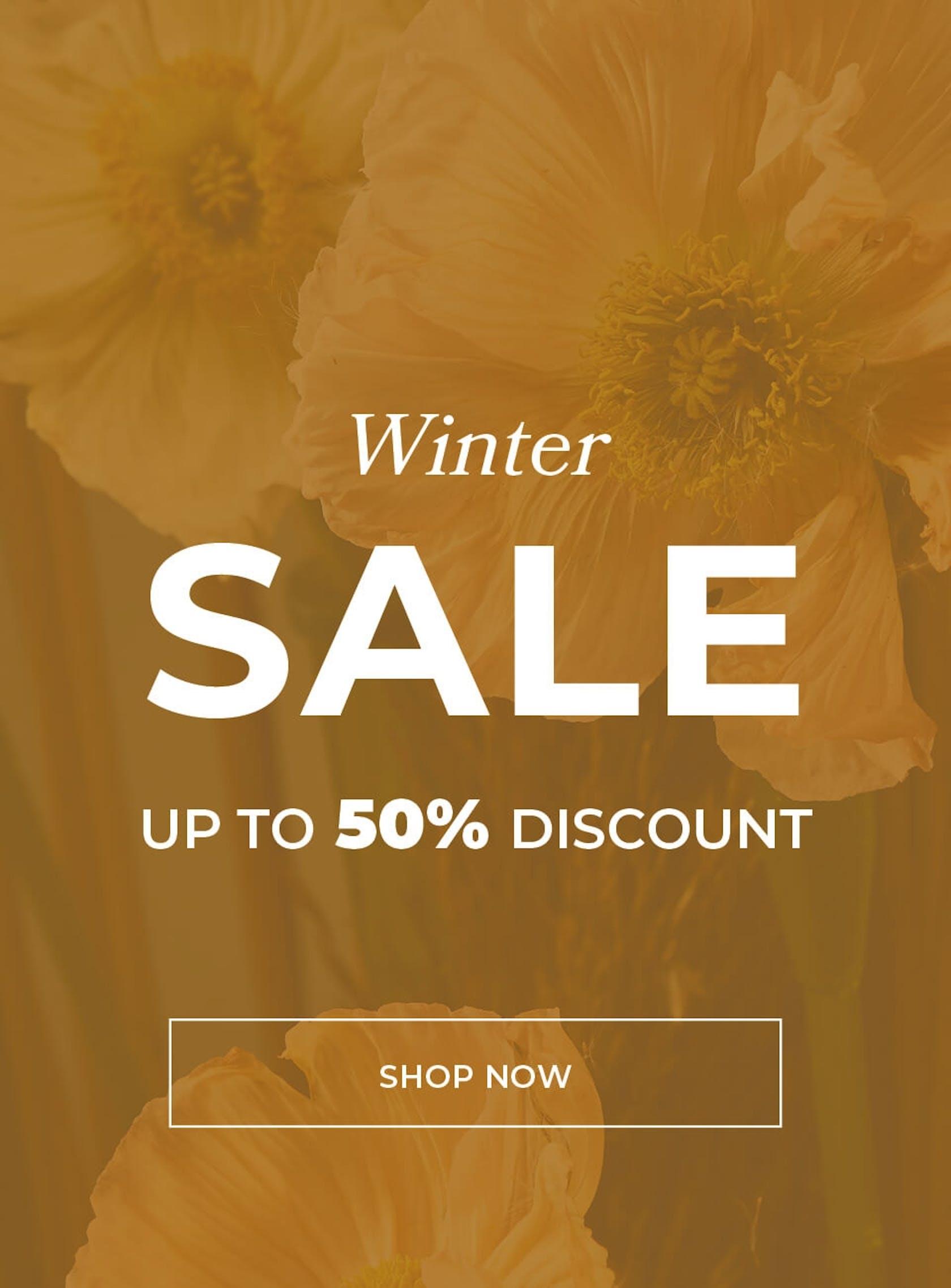 ESSENZA HOME Winter Sale