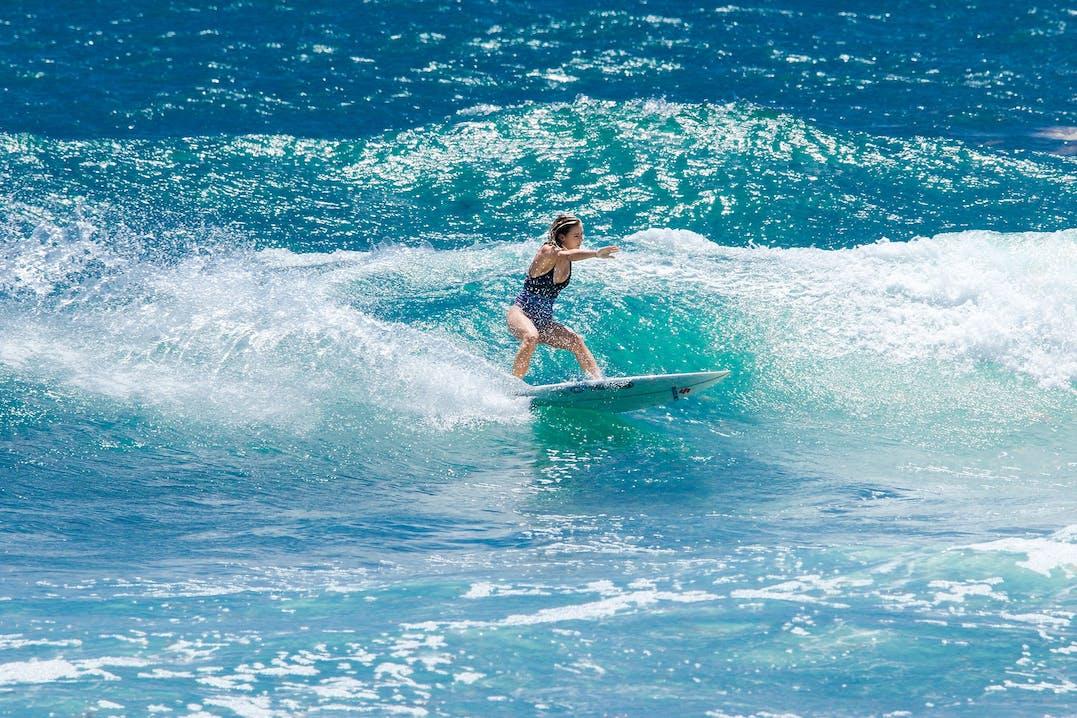 Surfen auf Barbados