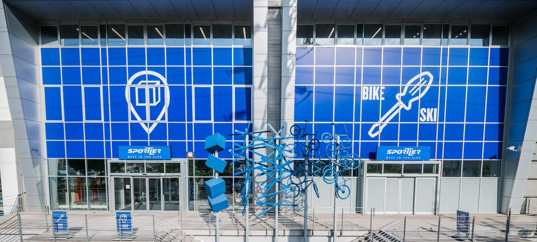 Service für Bike und Snow auf höchstem Niveau und Click&Collect Point für Onlinebestellungen des SPORTLER Shops