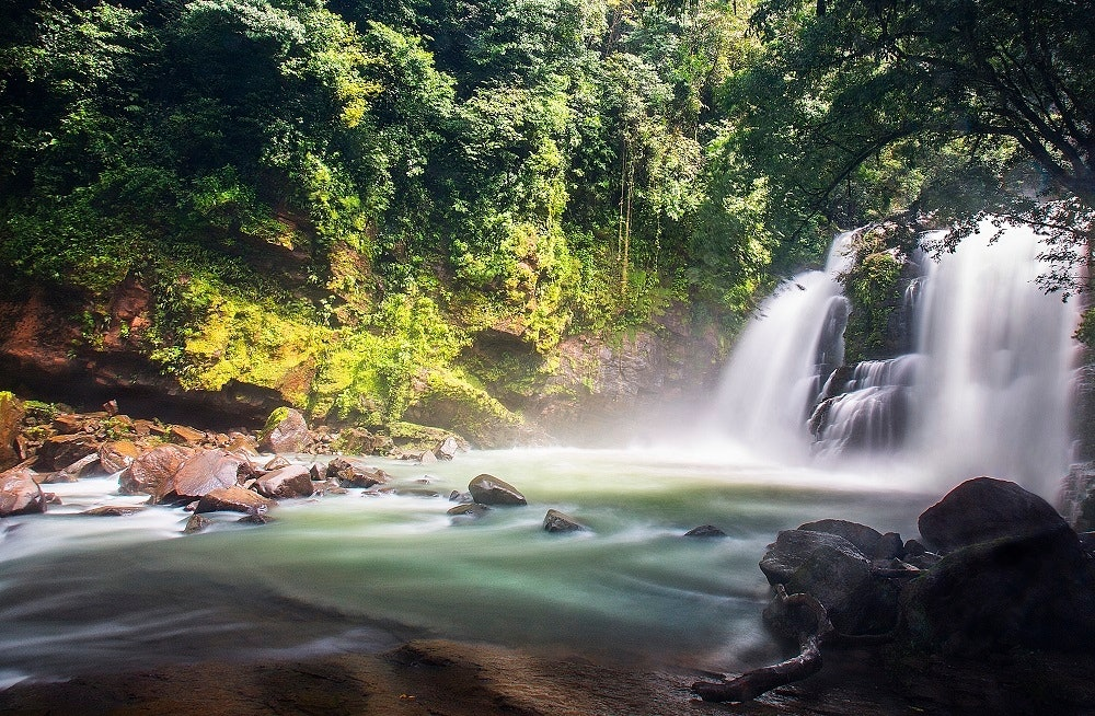 Wasserfälle in der Catarata Nauyaca in Dominical, Costa Rica