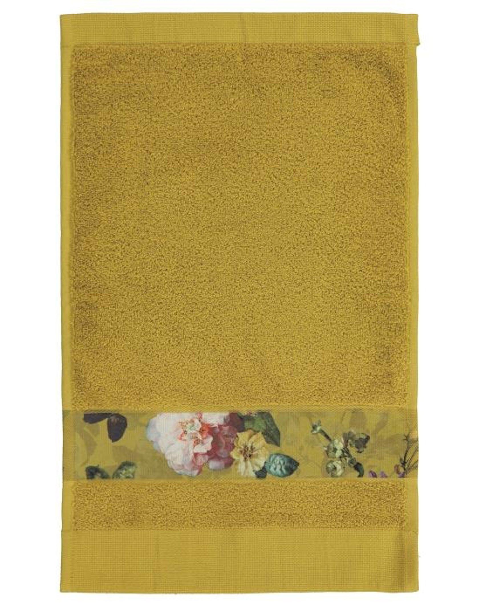 ESSENZA Fleur Guest towel Yellow