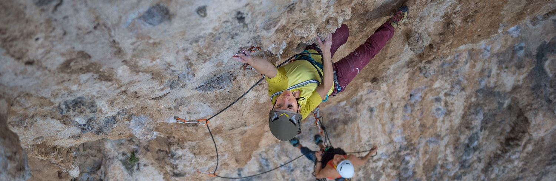 Climbing - hautnah am fels