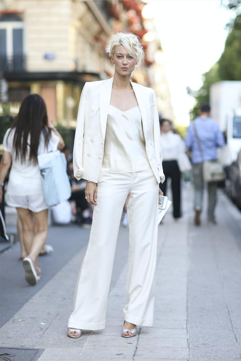 All White Look businessorientiert