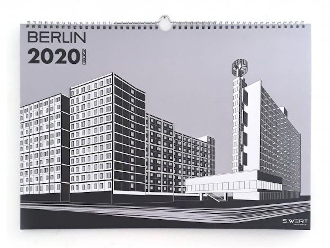 S.Wert Wandkalender Berlin Blocks