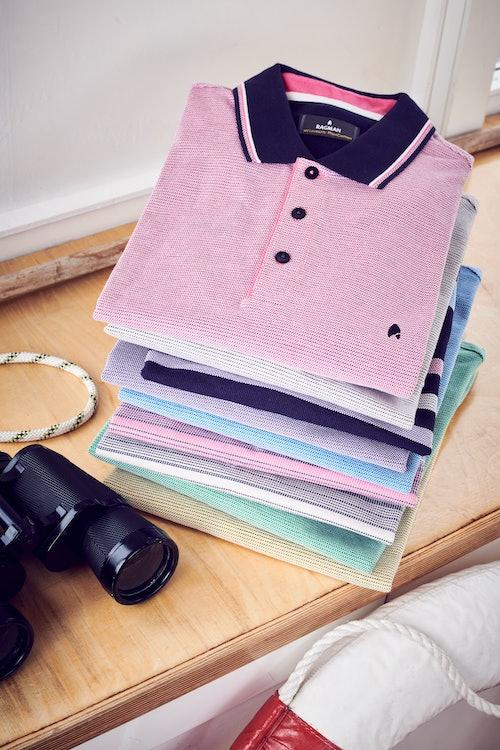 Ragman Poloshirts pastell