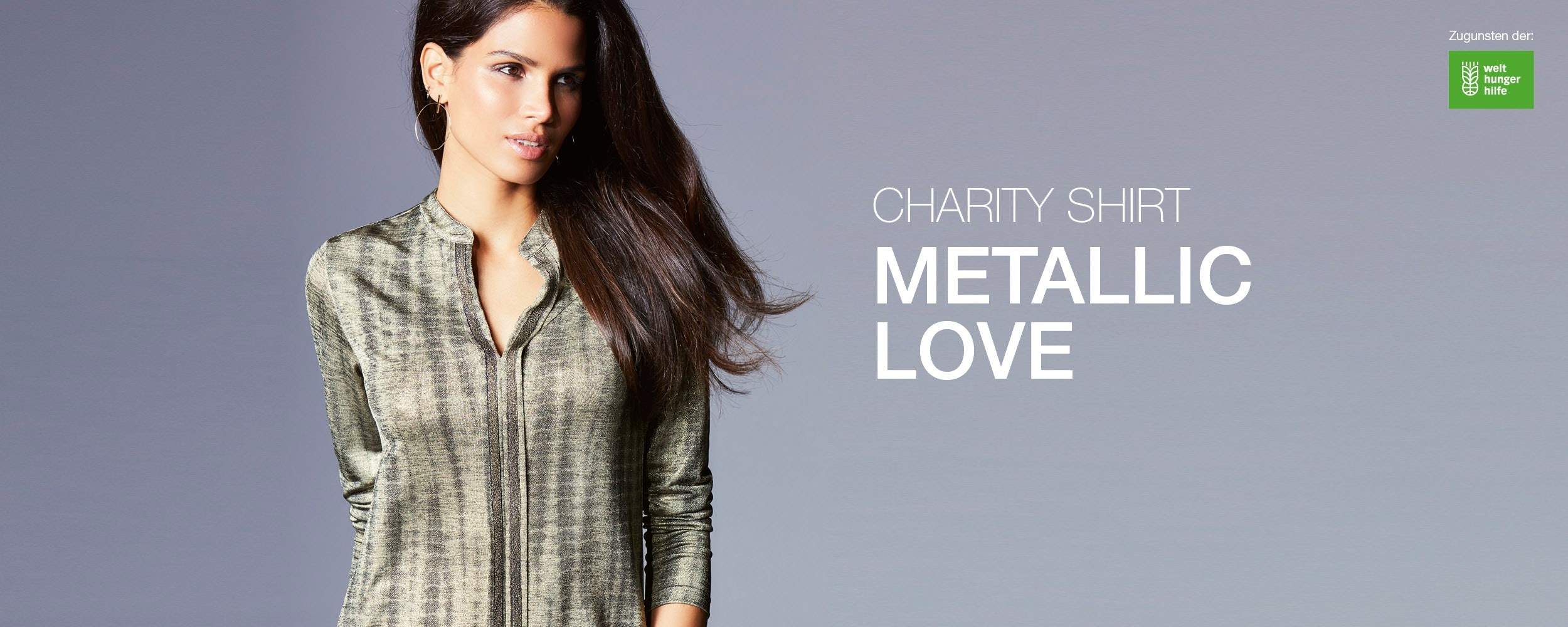 Charity-Shirt – Metallic Love