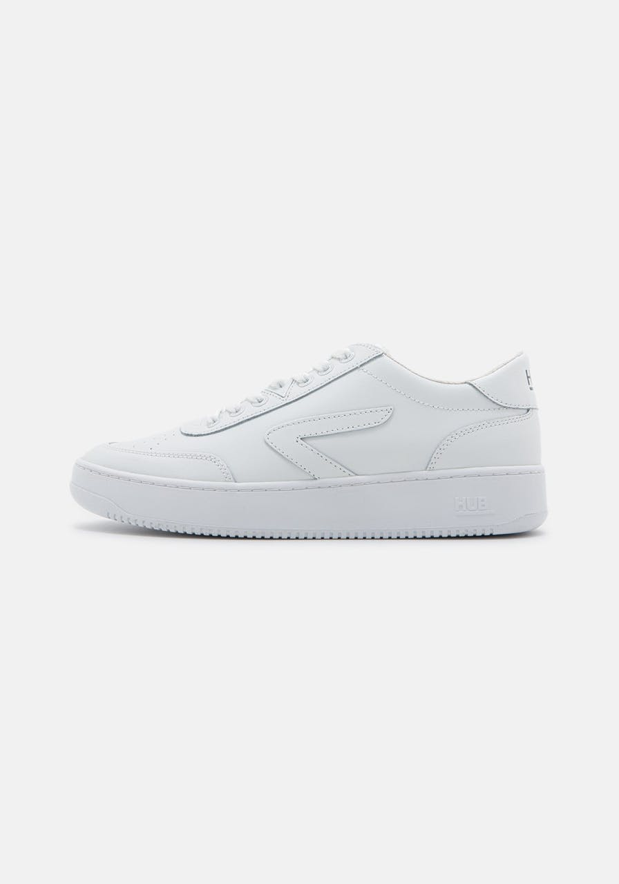 HUB FOOTWEAR Baseline-M L31 NO Laether /terry lin wht