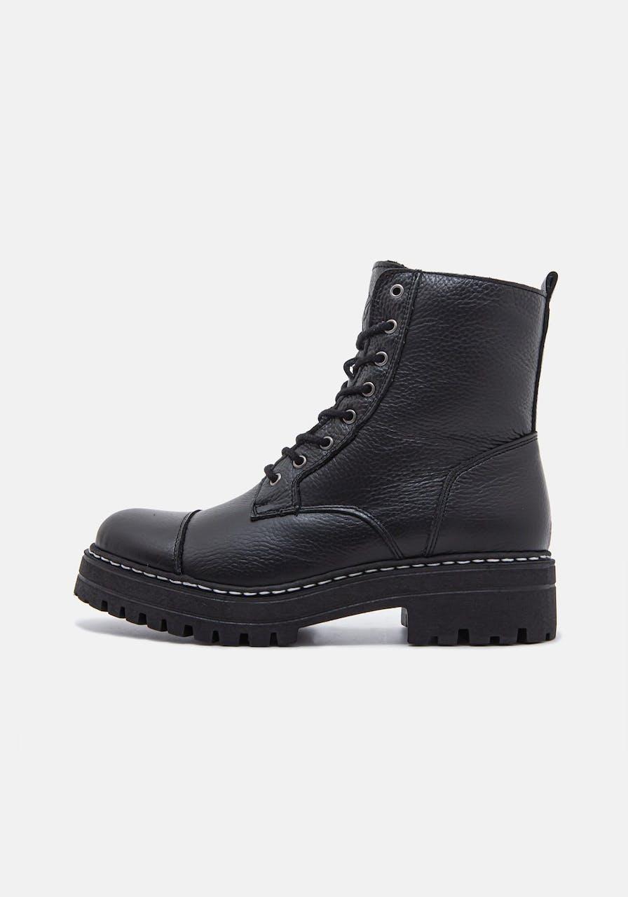 ROSA STERN Kathi Boot WF black/white