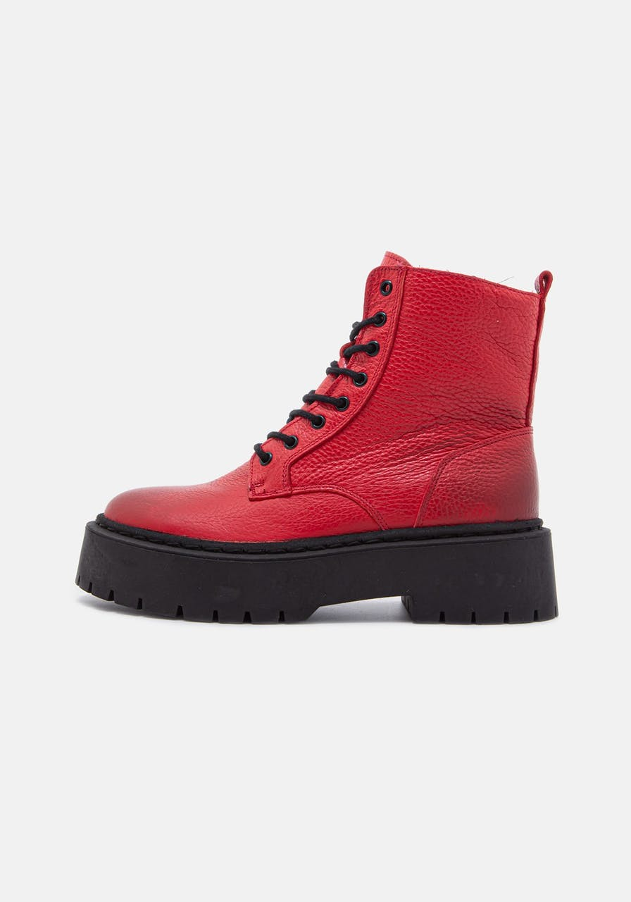 ROSA STERN Mary Boot red/black