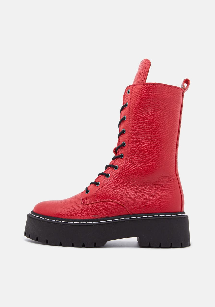 ROSA STERN Diana Boot red/white